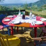 Lunch in Tuscany travel image